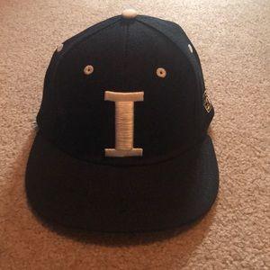 University of Illinois custom baseball hat